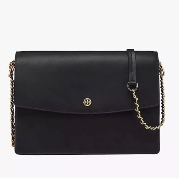 31e9f4c5a45 Black Tory Burch Large Parker Tote